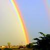 A Double Rainbow in Texas