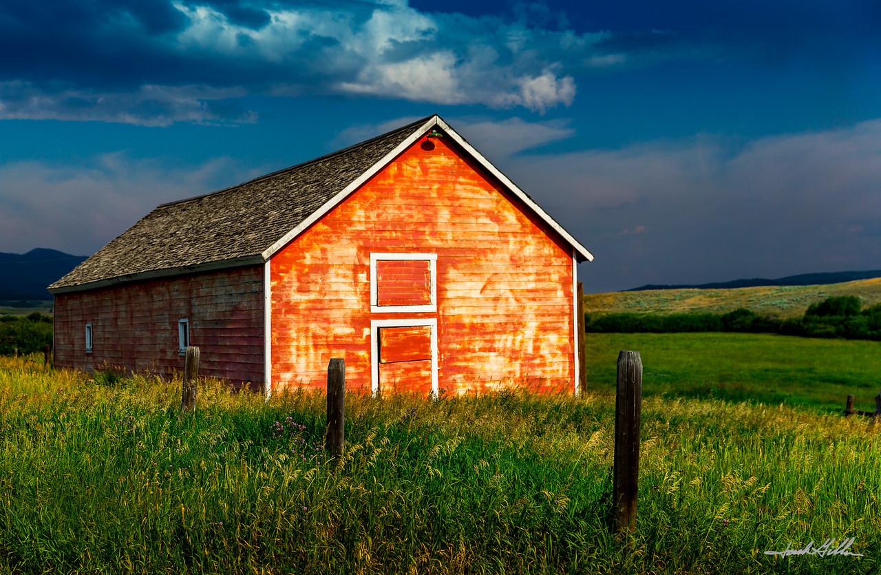 Barn @ Sunset