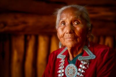 Helen, Navajo Elder, Monument Valley