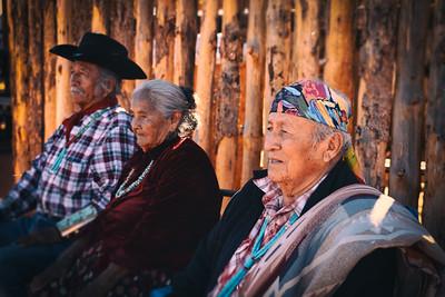 Navajo Elders at Monument Valley