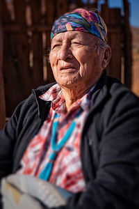 Navajo Elder, Monumet Valley