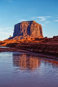 Merrick Butte Reflection