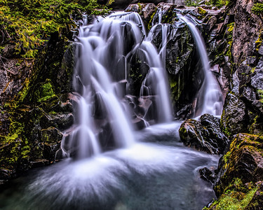 Paradise Falls - Mt.Rainier