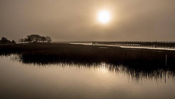 Murrells Inlet SC Morning Fog