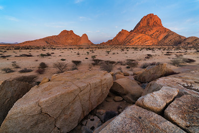 Sunrise Light on Skitzkoppe Peak