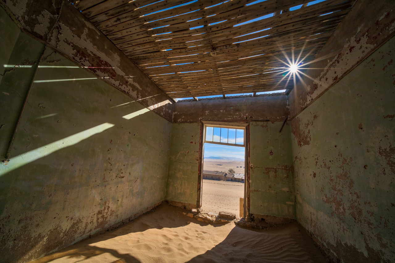 Sunstar and Sand-Filled Building