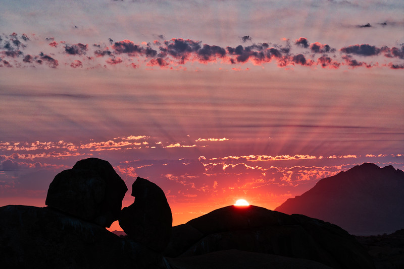 Skitzkoppe Sunset