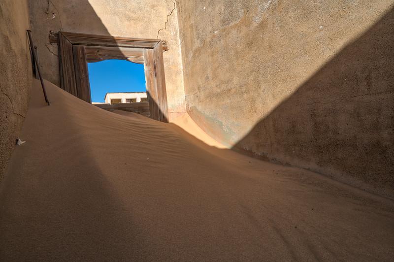 Room of Sand at Kolmanskop
