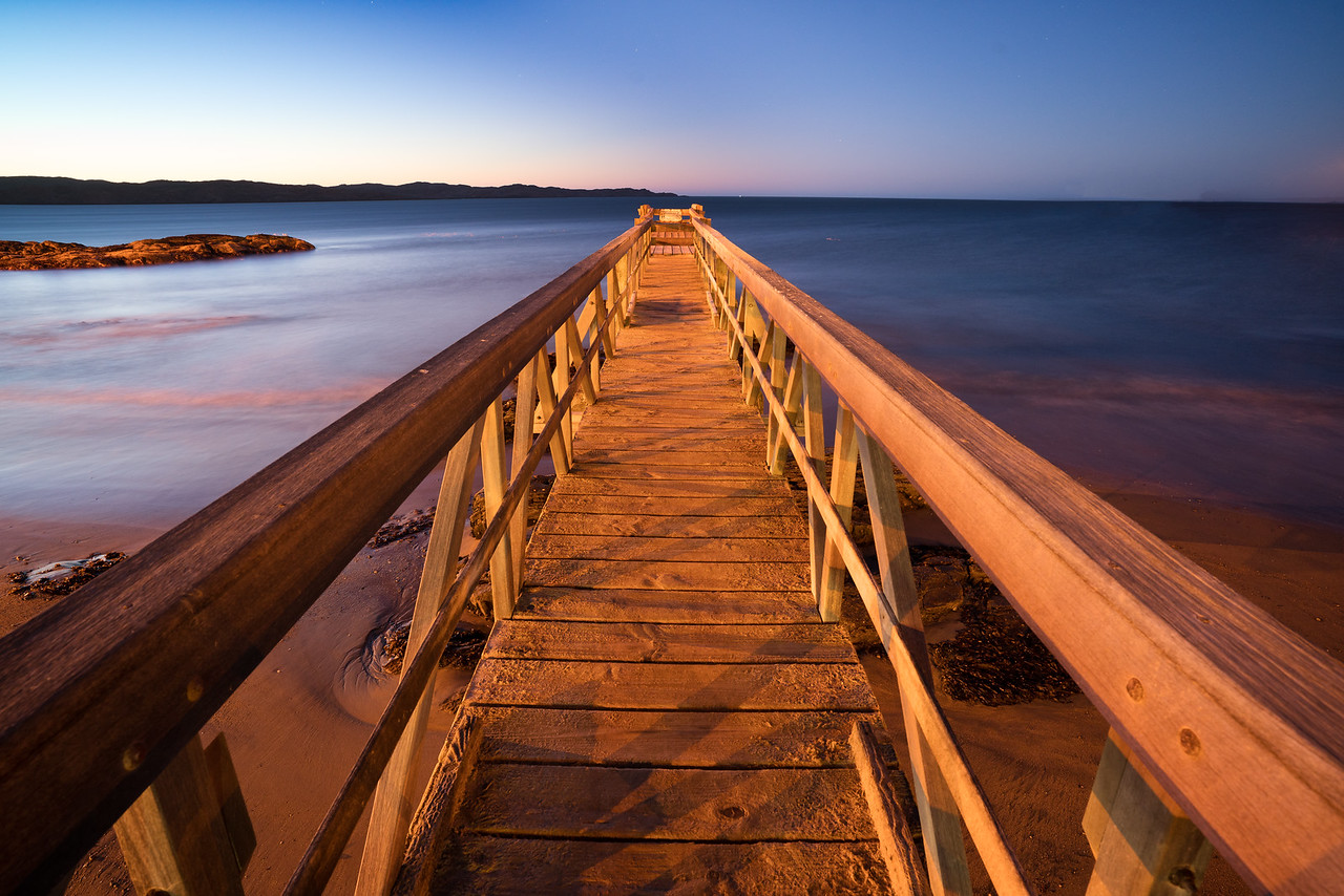 Small Pier at Luderitz