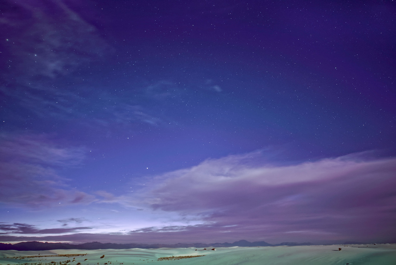 Stars Over Dunes