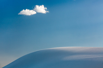 Coulds Over Dune, White Sands, New Mexico