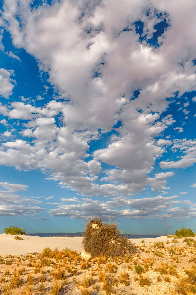 Clouds Over Sand Hut