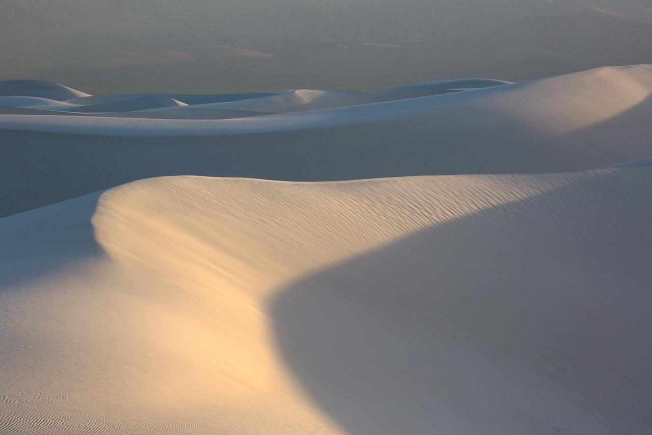 Last Light on Dune, White Sands NM