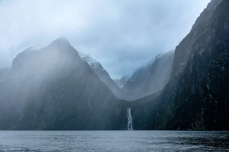 Milford Sound Waterfall