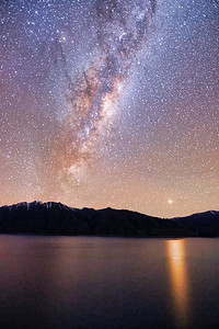 Milky Way Over Lake Hawea
