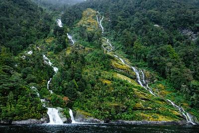 Rainy Day Waterfalls