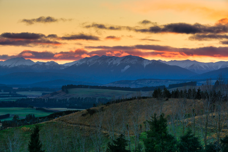 Barrier Range and Dawn Light