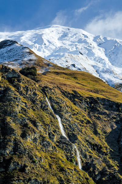 Seasonal Fall and Treble Cone Ski Resort