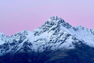 Dawn Light Over Round Peaks