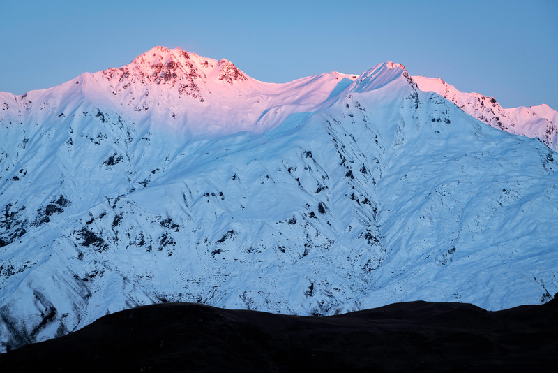 First Light on Mt. Aspiring