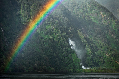 Partial Rainbow and Fall