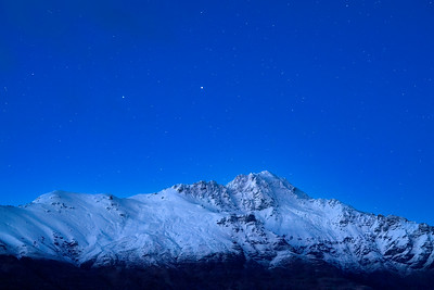 Starry Sky Over Thomsen Mountains