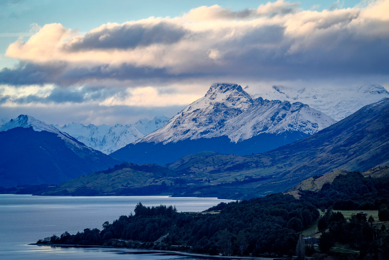 Southern Alps Above Glenorchy