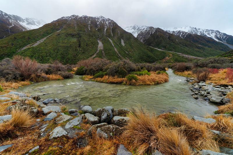 Creek Below Mt. Cook