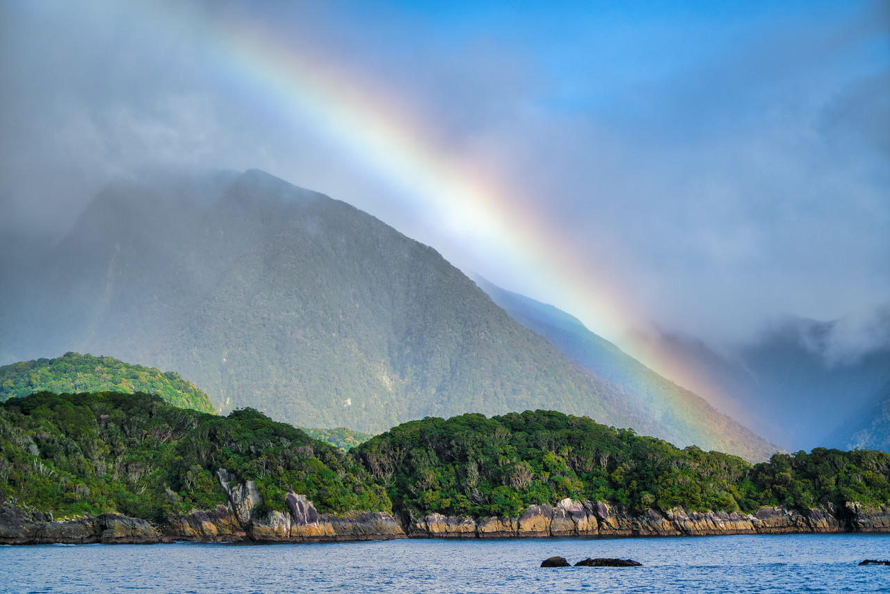 Rainbow Over Doubtful Sound