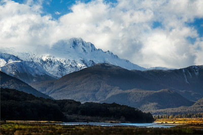 Clearing Storm Over Haast Pass