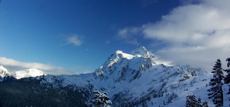 Mt. Shuksan from Pan Dome Mt. Baker Ski Area