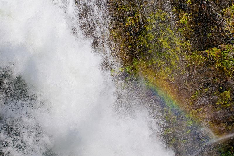 Nooksak Falls, Mt. Baker Snoqualimie National Forrest.