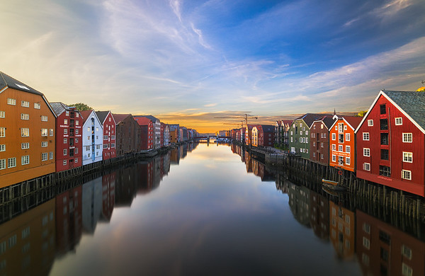 Colorful Trondheim