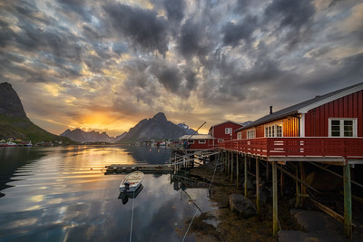 Midnight in Reine