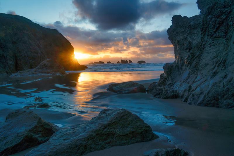 Facerock Beach Sunset