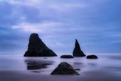 Wizard's Hat and Friends, Bandon Beach