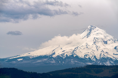 Mt. Hood and Storm Sky