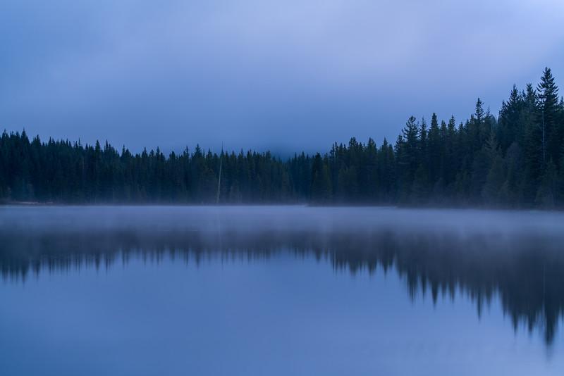 Dawn Mist, Trillium Lake