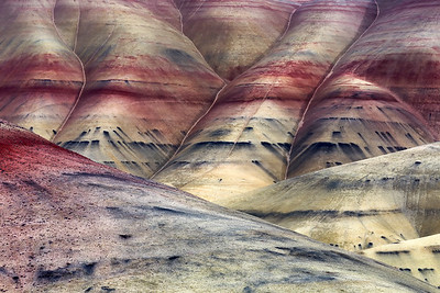 Layers of Painted Hills