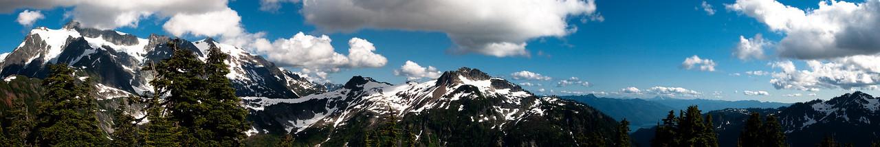 Mt Shuksan North Cascades NP July 2009
