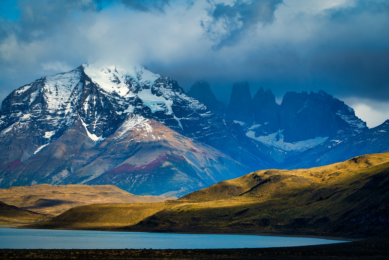 Morining Light, Torres Del Paine