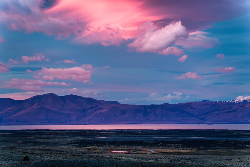 Dawn Light and Lake Viedma