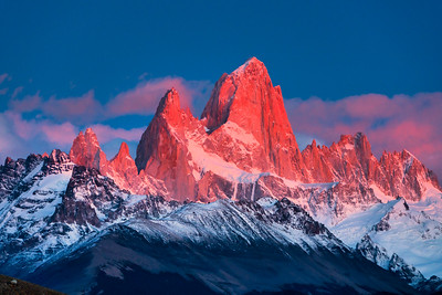 First Light on Mt. Fitzroy