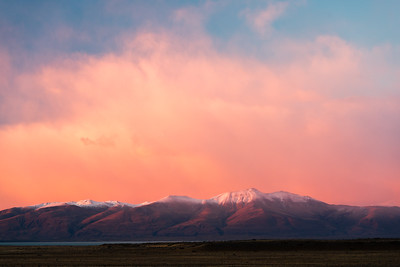 Dawn Light Over Andes Mountain Range