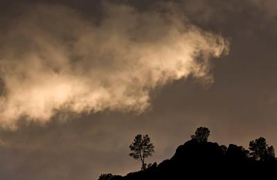 Storm Cloud Over High Peaks