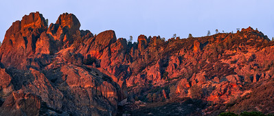 Pinnacles Lava Formations, West Face