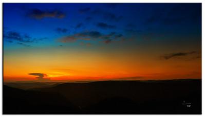 Sunset At Pipestem State Park