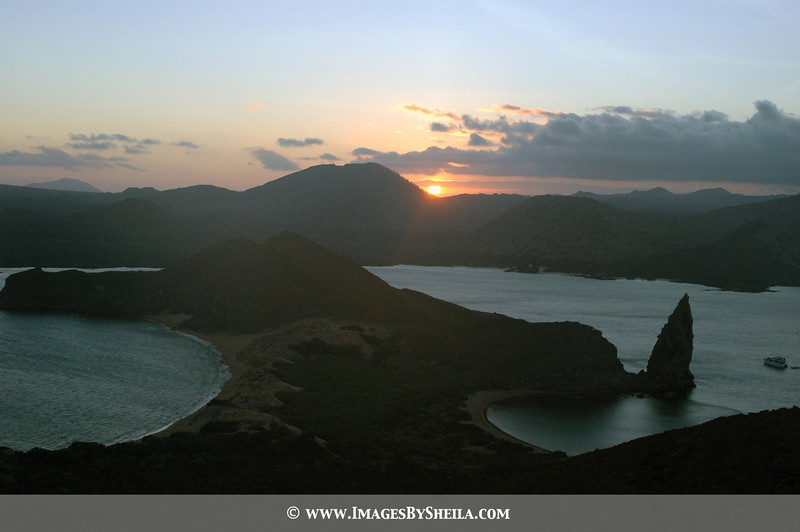 Pinnacle Rock -  one of the most photograph landscapes<br /> Galapagos Islands<br /> Ecuador