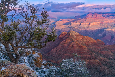Early Spring Morning on South Rim