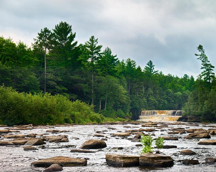 Tahquamenon Lower Falls – UP, Michigan aka Root Beer Falls #1